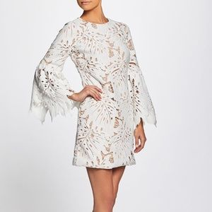 Dress The Population - Dylan Leaf Lace Sheath